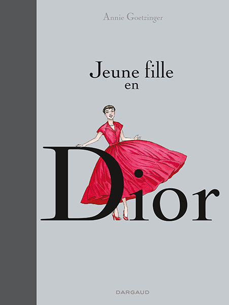 Couverture Jenue fille en Dior